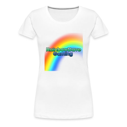 RainbowDave Gaming Logo - Women's Premium T-Shirt