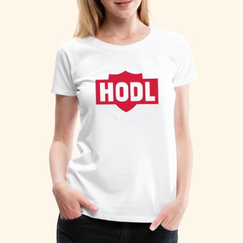 HODL TO THE MOON - Naisten premium t-paita