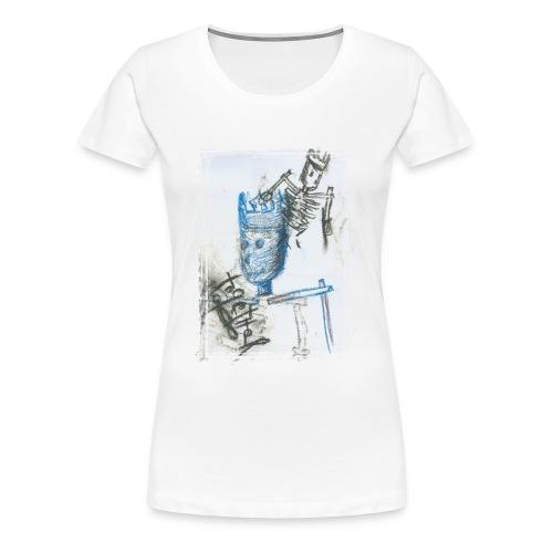 Blue King - Frauen Premium T-Shirt