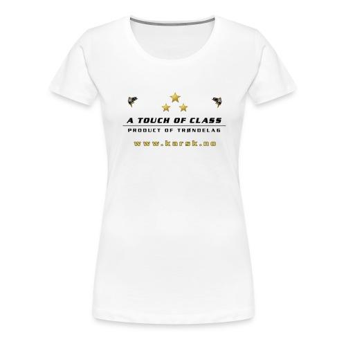 tskjorte01 - Premium T-skjorte for kvinner