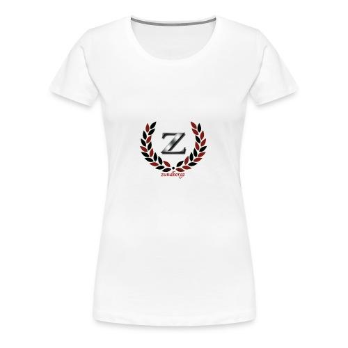 zundbergz logo - Premium-T-shirt dam