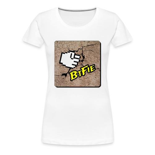 BrutalFissure Tee - Dame premium T-shirt
