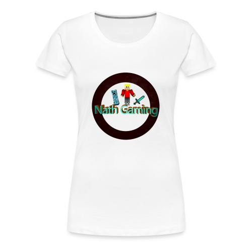NathGaming - Women's Premium T-Shirt