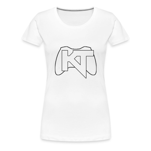 Kwalitijd iphone4/4s Hoesje - Vrouwen Premium T-shirt