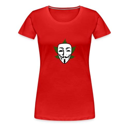 Anonymous - Vrouwen Premium T-shirt