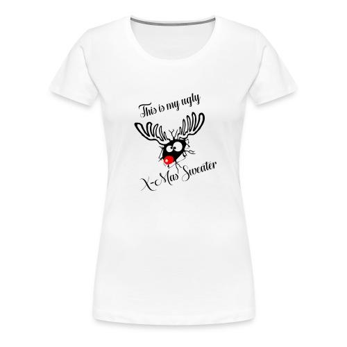 UglyXMas - Frauen Premium T-Shirt