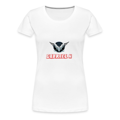 GHS Logo+lång text - Premium-T-shirt dam