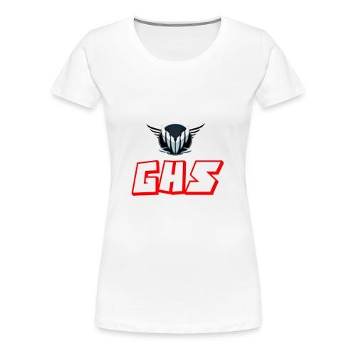 GHS Märke+text - Premium-T-shirt dam