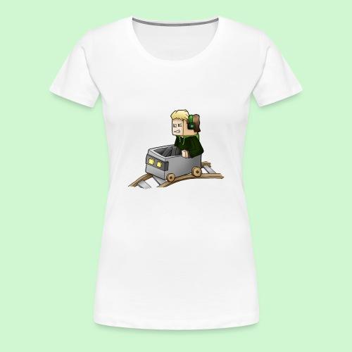 Tantriss LP - Minecart - Frauen Premium T-Shirt
