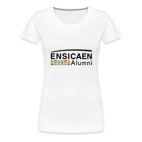 Collection Femmes Ensicaen Alumni - T-shirt Premium Femme