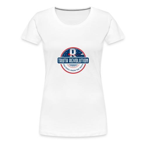 Truth Revolution Official Logo T-Shirt - Women's Premium T-Shirt