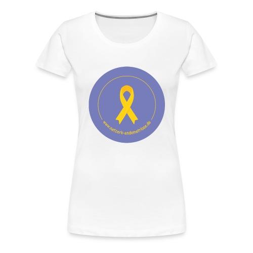 LOGO EndometrioseNetzwerk - Frauen Premium T-Shirt