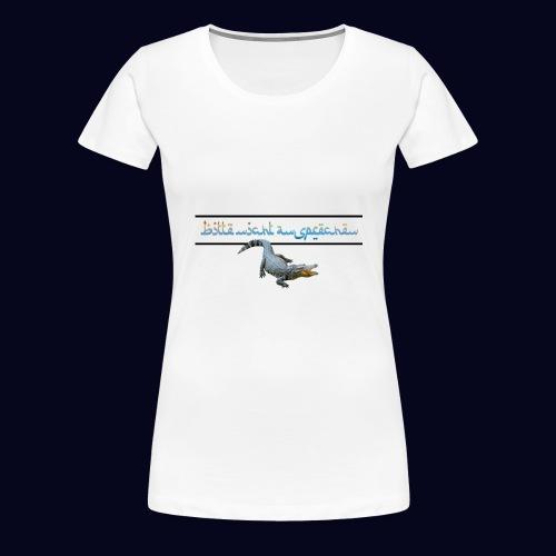 nicht ansprechen 2 - Frauen Premium T-Shirt