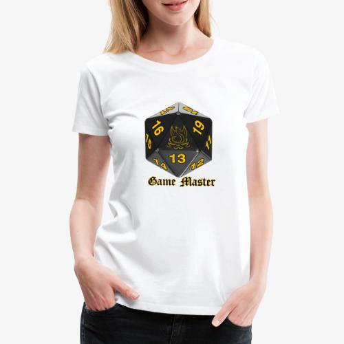 Game master yellow - T-shirt Premium Femme