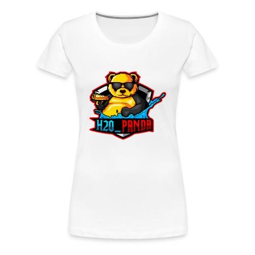 Pandas Loga - Premium-T-shirt dam