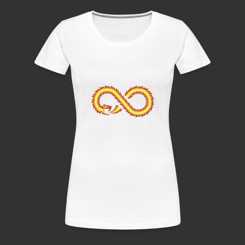 Infinity Snake - T-shirt Premium Femme