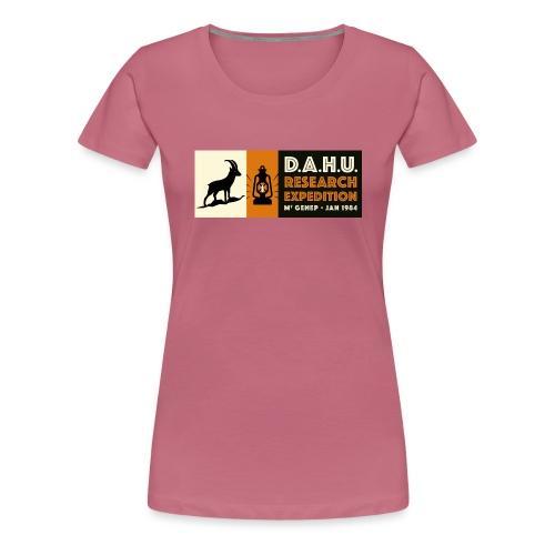 Expedition Chasse au Dahu - T-shirt Premium Femme