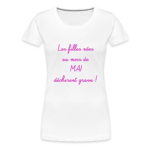 mai - T-shirt Premium Femme