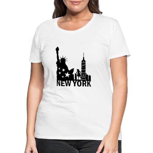 New York City Deluxe - Frauen Premium T-Shirt
