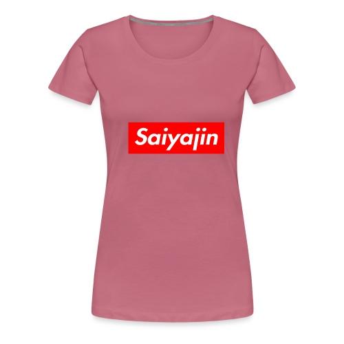 saiyajin - T-shirt Premium Femme