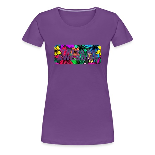 Tri to be Awesome Dschungel Block - Frauen Premium T-Shirt