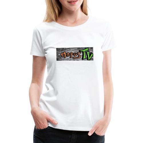 MapusTv Logo (Grafitti) - Frauen Premium T-Shirt