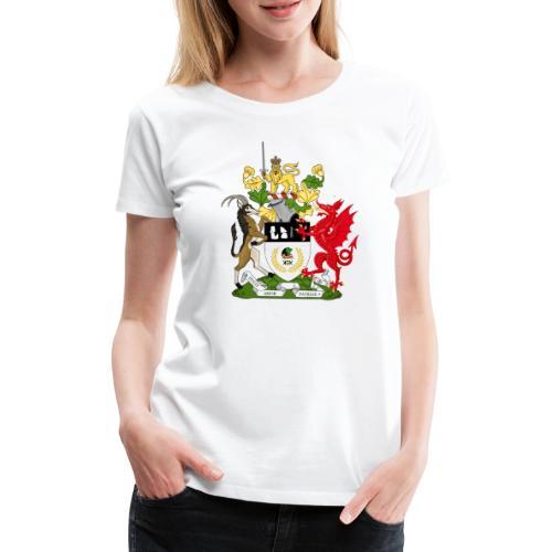 Coat of Arms of Kekistan - Vrouwen Premium T-shirt