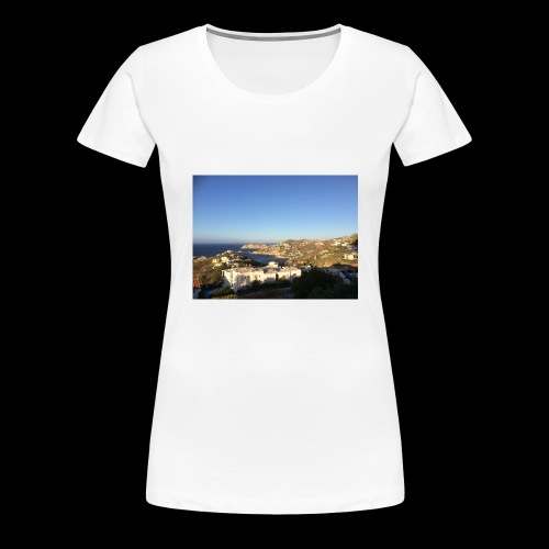 creece - Vrouwen Premium T-shirt