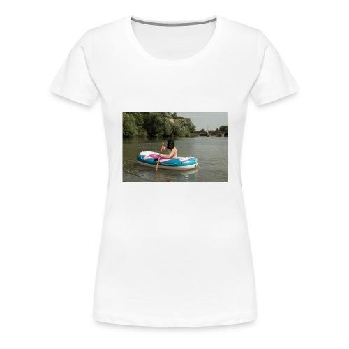 Wir stammen vom Affen ab - Frauen Premium T-Shirt