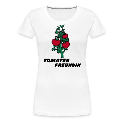 Tomatenfreundin - Frauen Premium T-Shirt