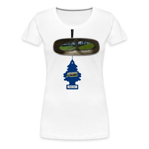 Look back with split vision. - Premium-T-shirt dam