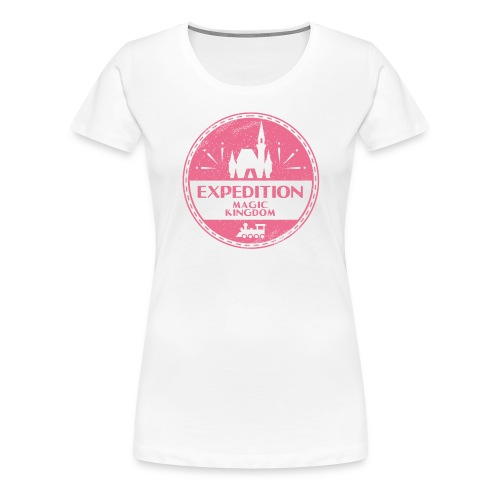 Expedition Magic Kingdom - Women's Premium T-Shirt