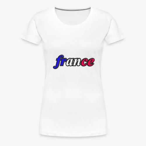 france - T-shirt Premium Femme
