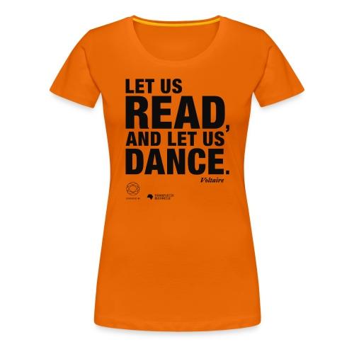 LET US READ | Bookish Merch - Frauen Premium T-Shirt