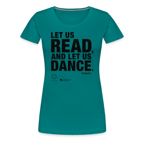 LET US READ | Bookish Merch - Frauen Premium T-Shirt