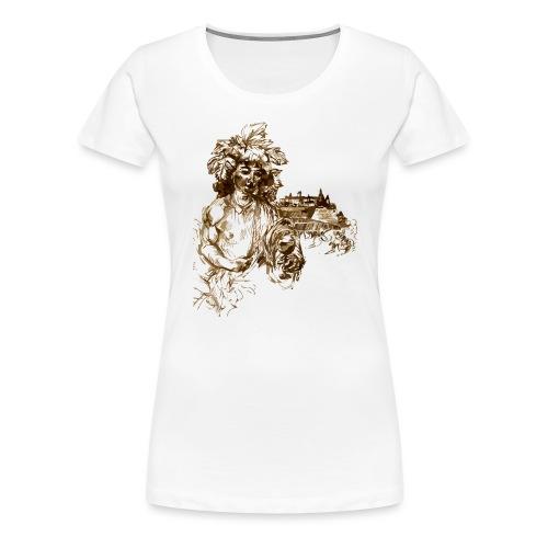 Bacchus 010 - Frauen Premium T-Shirt