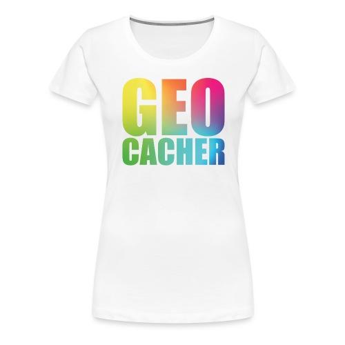 Geocacher (summer2016) - Naisten premium t-paita