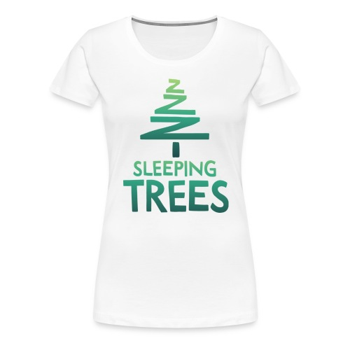 SleepingTrees Colour LightBackground png - Women's Premium T-Shirt