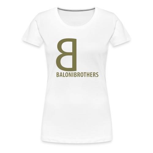 BB-BaloniBrothers Logo - Premium T-skjorte for kvinner