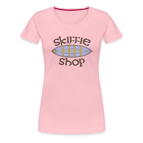 Skiffie Shop logo - Women's Premium T-Shirt