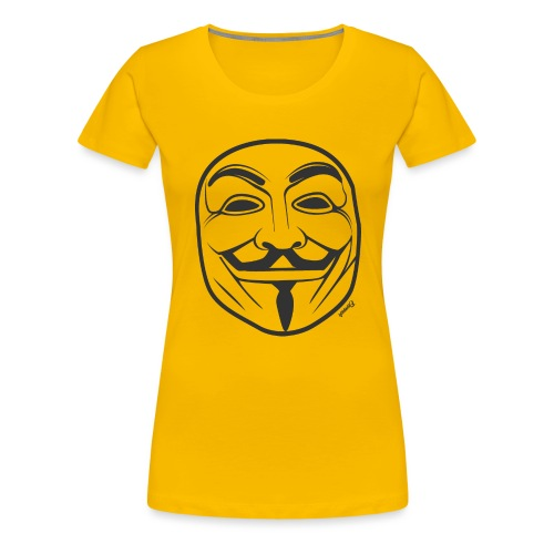 *NEW* Anonymous (H) - T-shirt Premium Femme