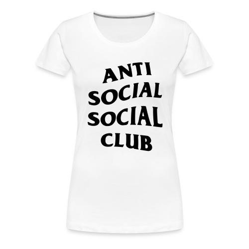 anti social social club - Women's Premium T-Shirt