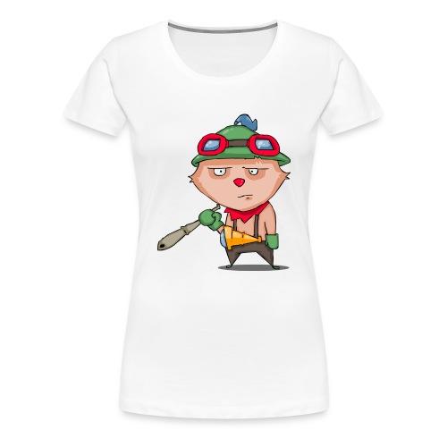 teetoalone - Women's Premium T-Shirt