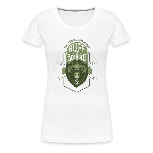 HVYW8 Buff and Bear-ded - Women's Premium T-Shirt
