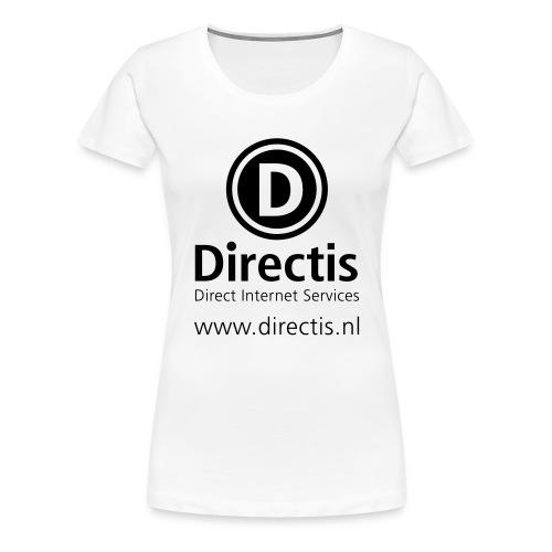 directis logoallblack203 - Vrouwen Premium T-shirt