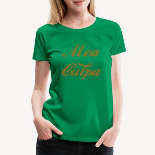 MEA CULPA - Women's Premium T-Shirt