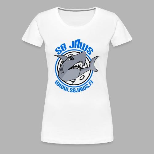 SB JAWS - Naisten premium t-paita