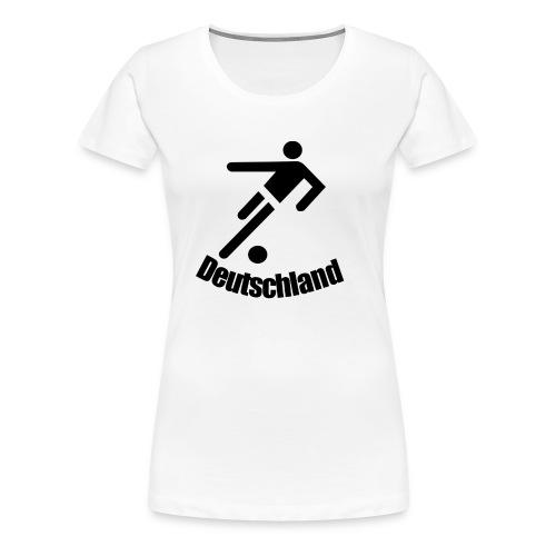 EM fussball - Frauen Premium T-Shirt