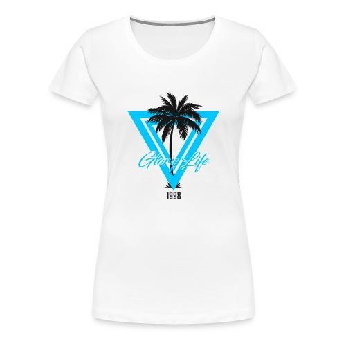 Triangle Palm 1998 - T-shirt Premium Femme