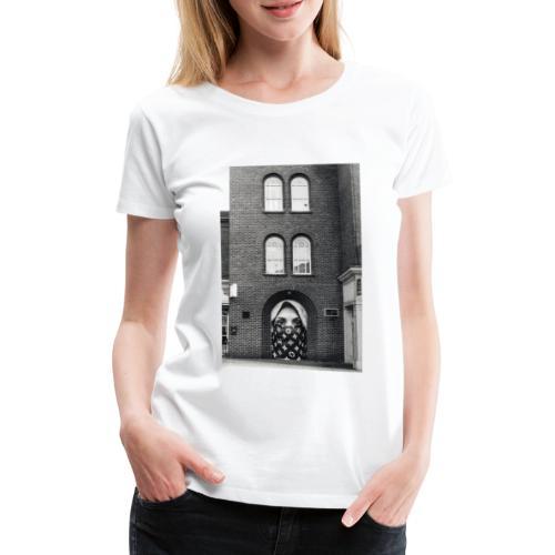 AGNESE EMILIOZZI X iorestoacasaArtistiUniti - Maglietta Premium da donna